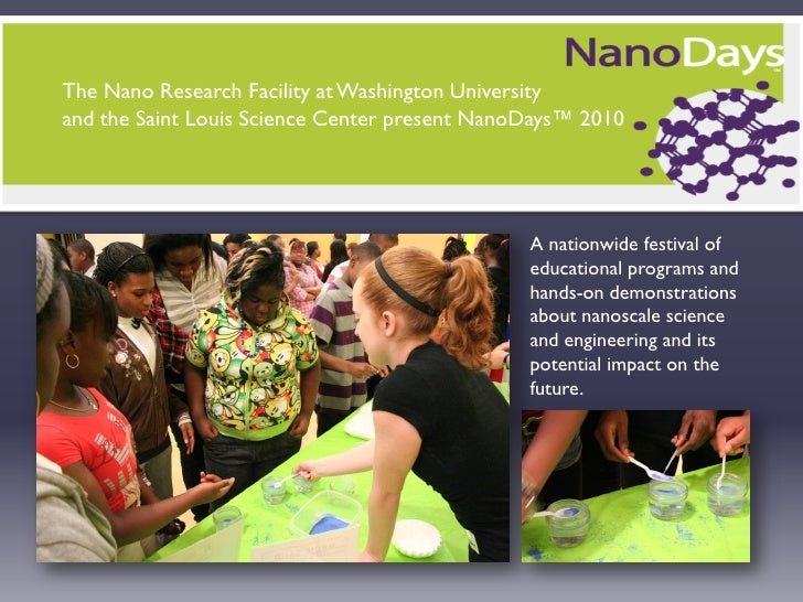 NanoDays at the St. Louis Science Center