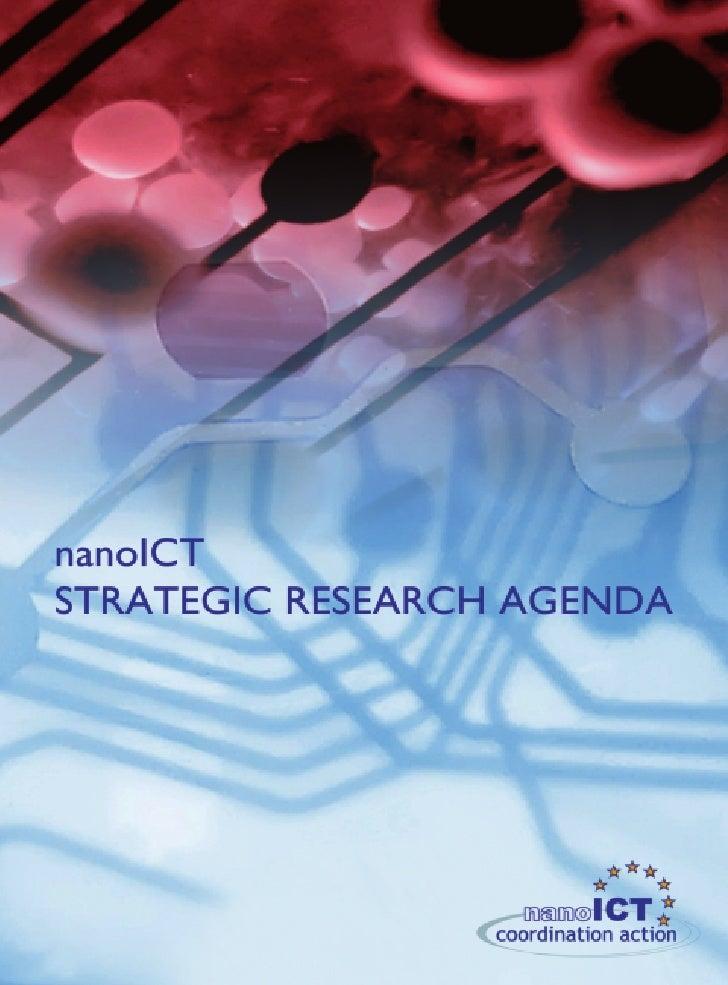 nanoICT Strategic Research Agenda