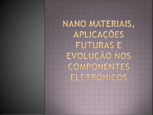  Quem descobriu inicialmente o grafeno foi o físico Philip Russel Wallace, que desenvolveu alguns estudos sobre o materia...