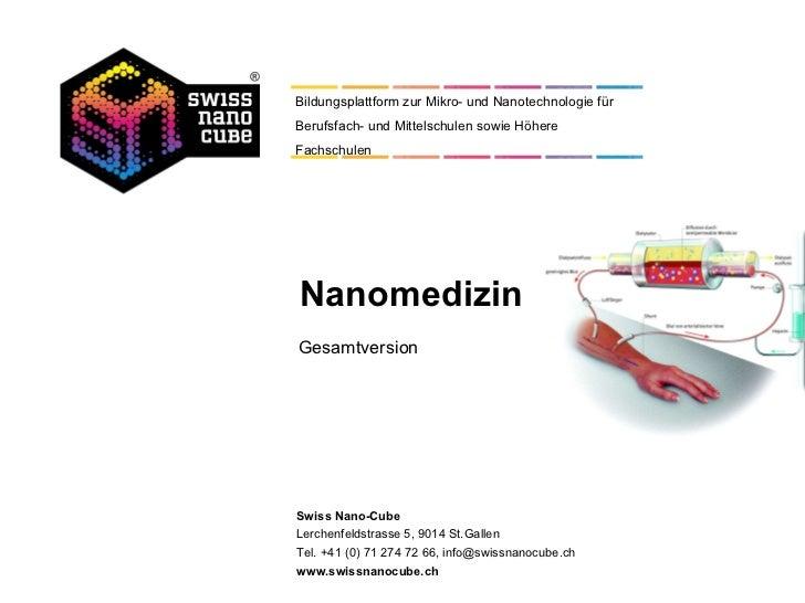 Nanomedizin Gesamtversion