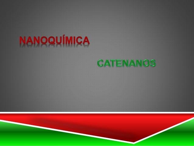 NANoQUíMIcA  CATE NAN OS