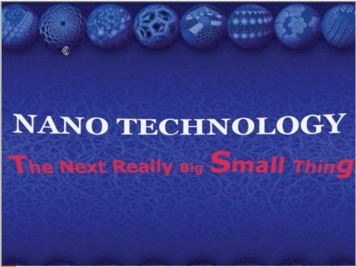 Nano tech