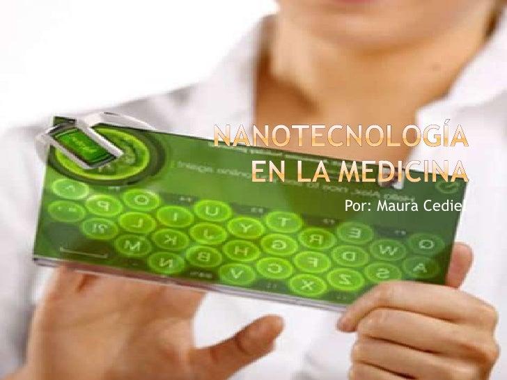 Nanotecnología en la medicina