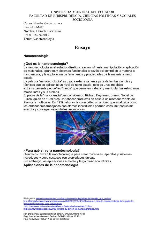 UNIVERSIDAD CENTRAL DEL ECUADOR FACULTAD DE JURISPRUDENCIA, CIENCIAS POLITICAS Y SOCIALES SOCIOLOGIA Curso: Nivelación de ...