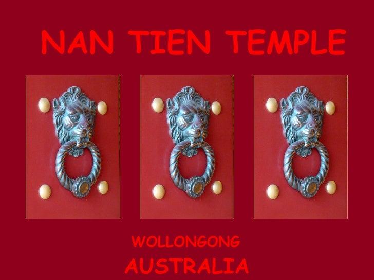 Nan Tien Temple - Australia