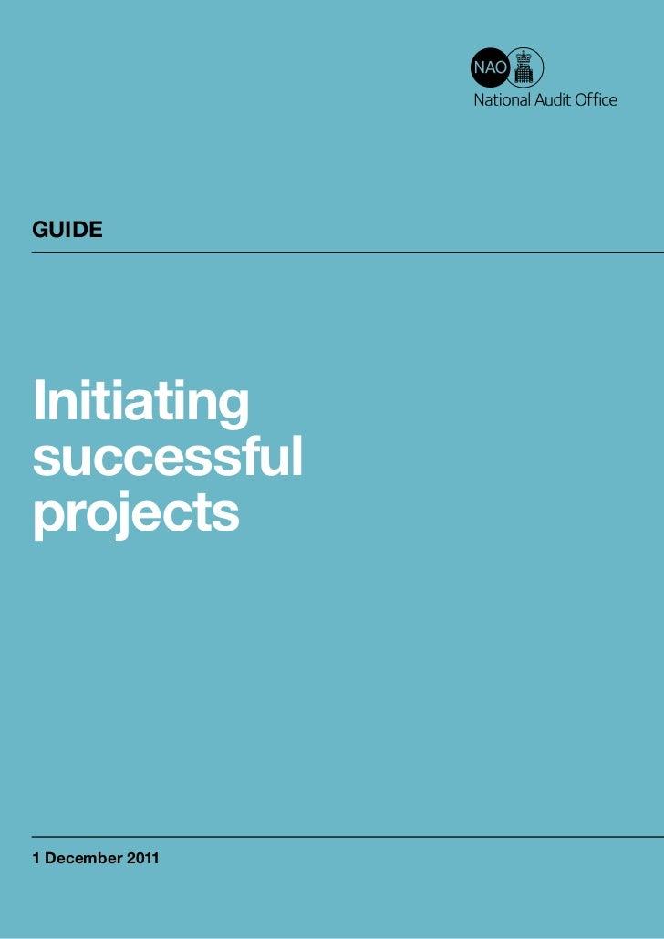 GUIDEInitiatingsuccessfulprojects1 December 2011