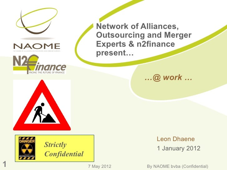 Network of Alliances,                      Outsourcing and Merger                      Experts & n2finance                ...