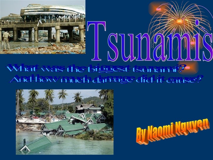 Tsunamis By Naomi Nguyen What was the biggest tsunami?  And how much damage did it cause?