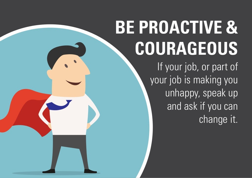 how to become proactive at work