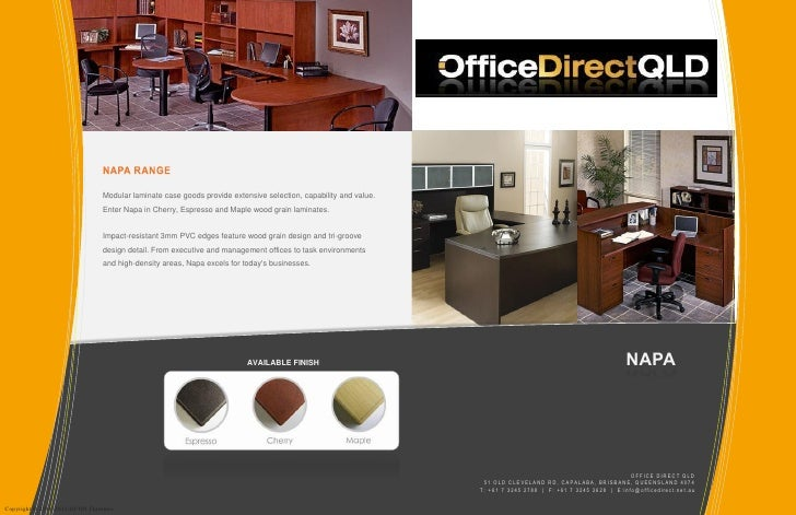 Napa range office furniture