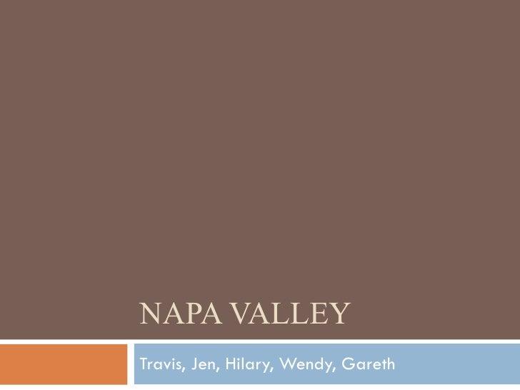 Napa Valley Final Copy In Progress