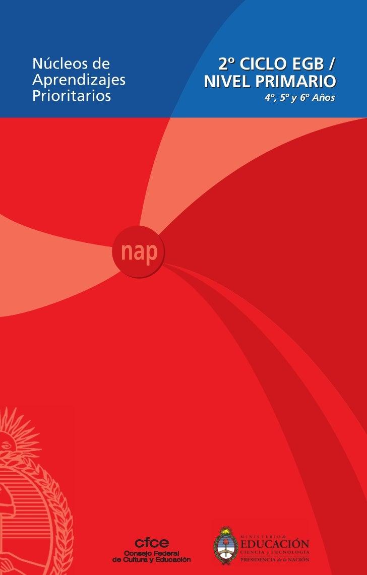 Nap Segundo Ciclo