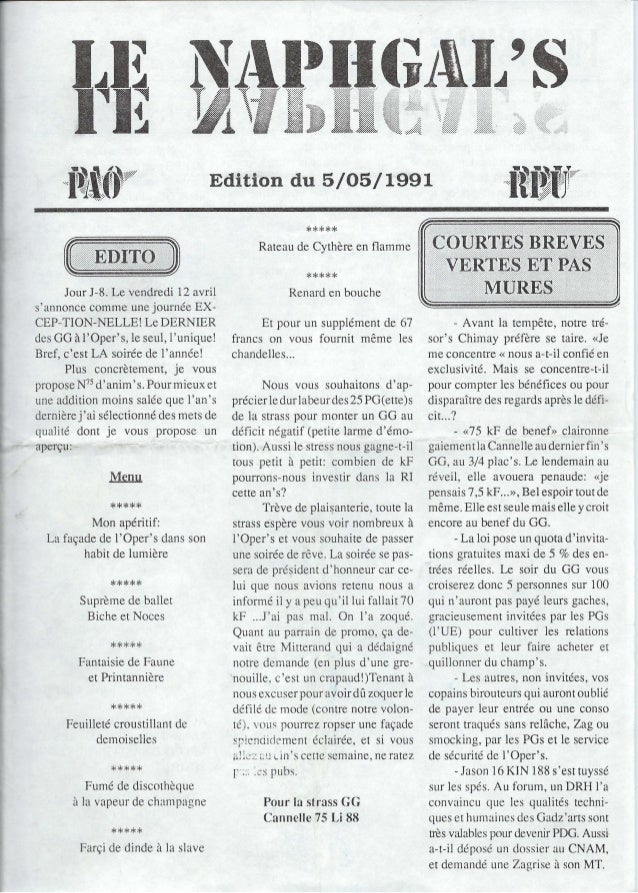 """r ------ ~:::-:::.""""."""" ..,,Iiillli!:.Edition du 5/05/1991Jour J-8. Le vendredi 12 avrilsannonce comme une journée EX-CEP-TI..."""