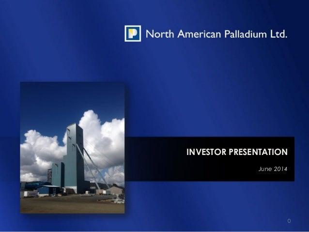 NAP Investor Presentation June 2014