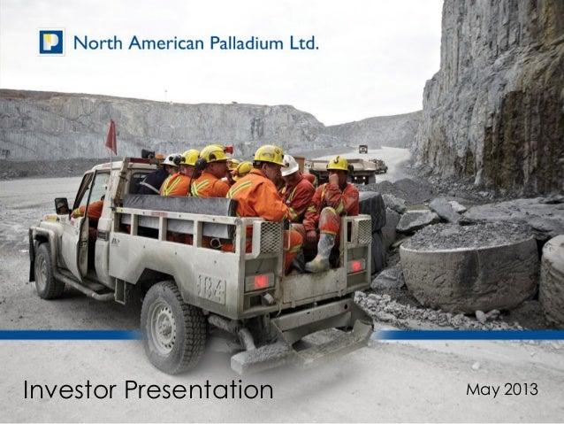 Nap investor presentation may 15 2013