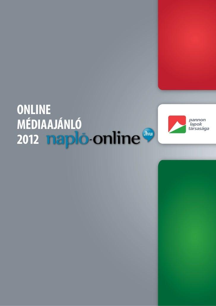Naplo-online.hu médiaajanló