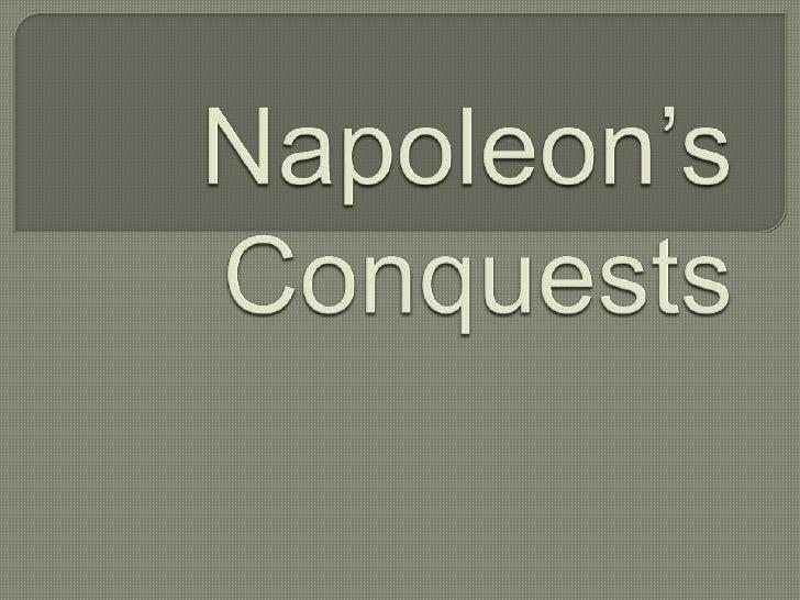 Napoleon's Conquests<br />