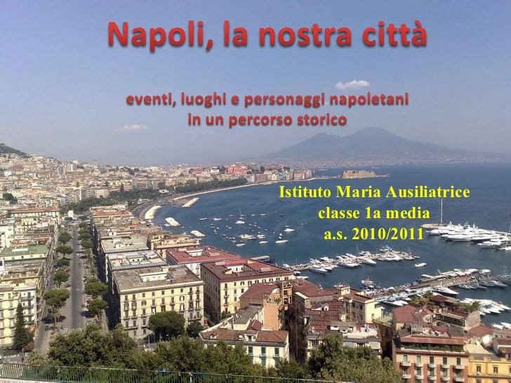 Istituto Maria Ausiliatrice classe 1a media a.s. 2010/2011