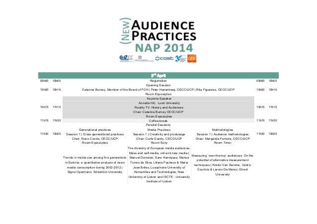 New Audiences Practices