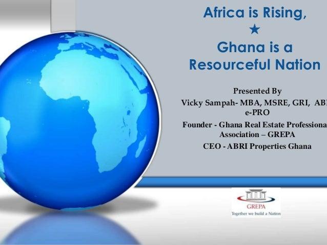 NAR GLOBAL ALLIANCES GHANA PRESENTATION