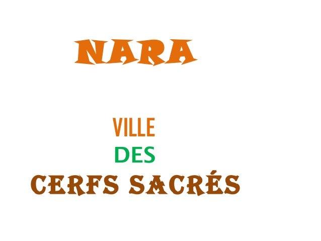 NARA  VILLE  DES  CERFS SACRéS