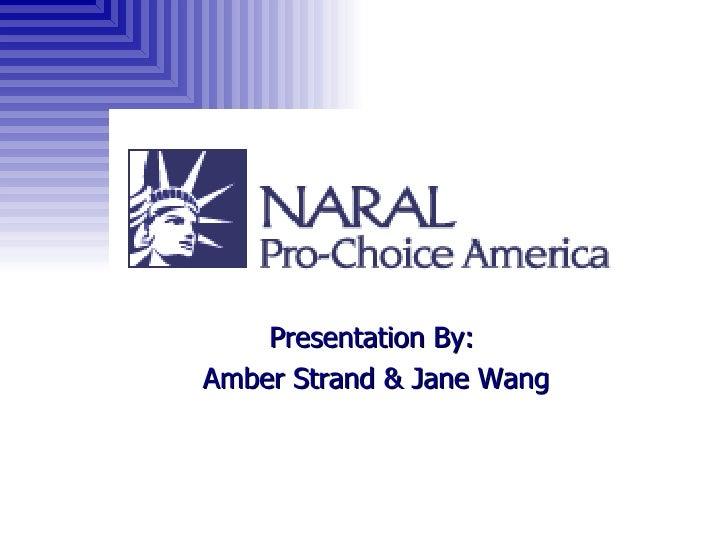 Presentation By:  Amber Strand & Jane Wang