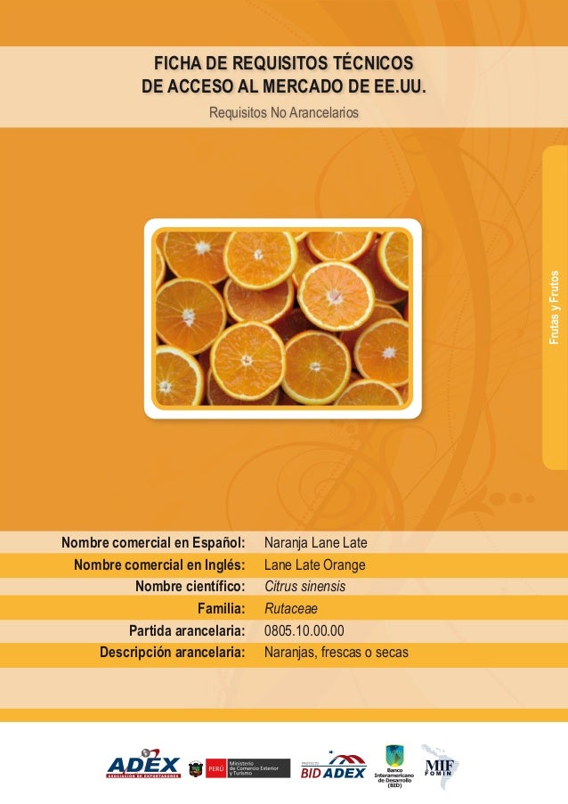 BID - Naranja lane late