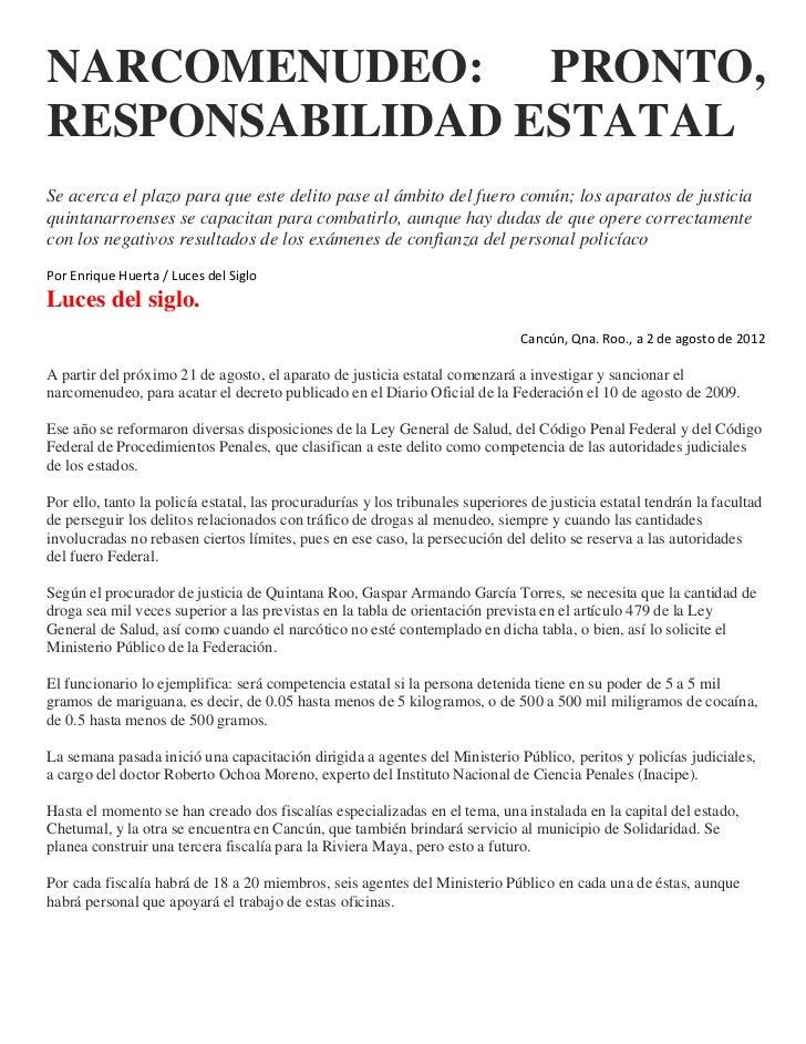 Narcomenudeo 05 08 2012