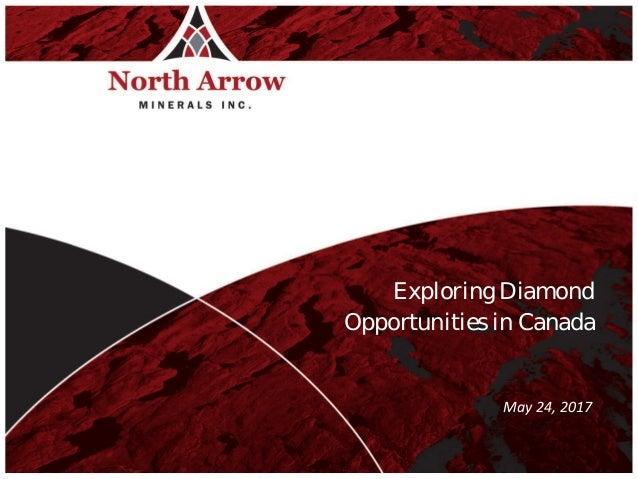 TSXV:NAR Exploring Diamond Opportunities in Canada June 16, 2015 Marketing Presentation