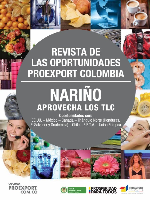 Proexport Cartillas TLC - Nariño
