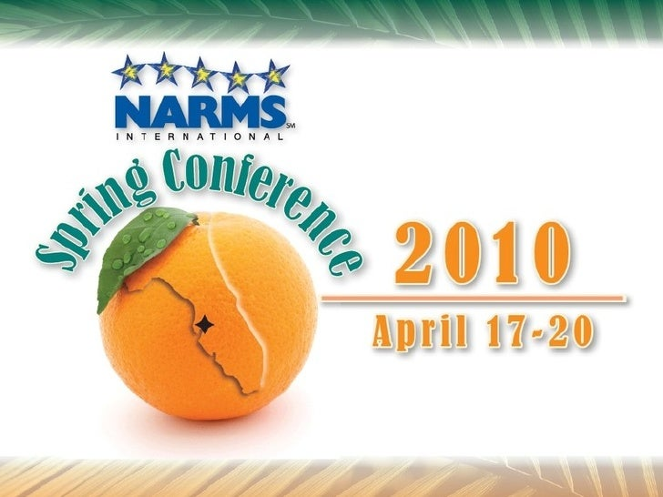 Narms Conference 2010 - Tampa
