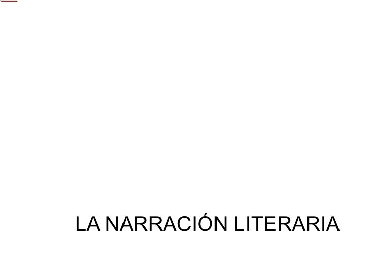 Narración literaria