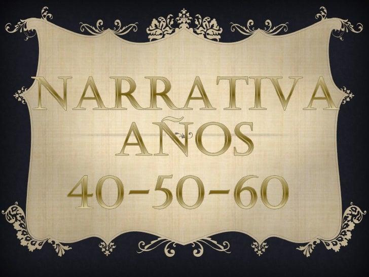 Narrativa 40 50-60 josu y christian