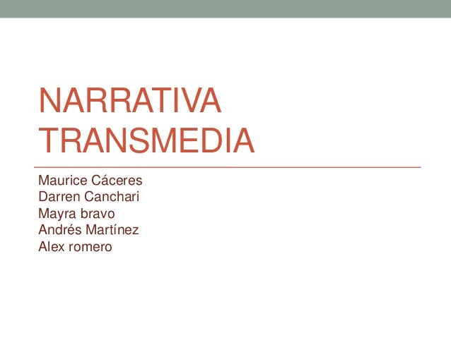 Narrativa Transmedia, Crossmedia, Multiplataforma