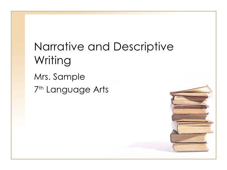 Writing narrative essays ppt - Stonewall Services