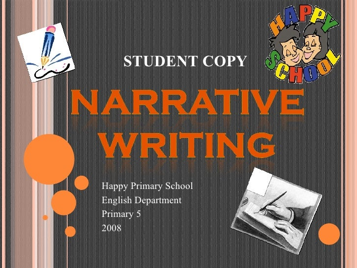 Narrative Writing - Student Copy