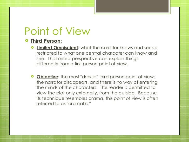 Three Points of View