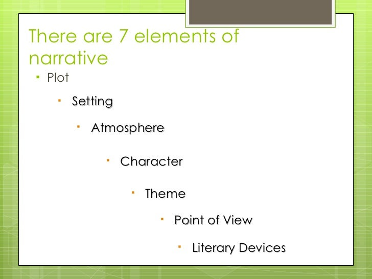 narrative essay literary definition