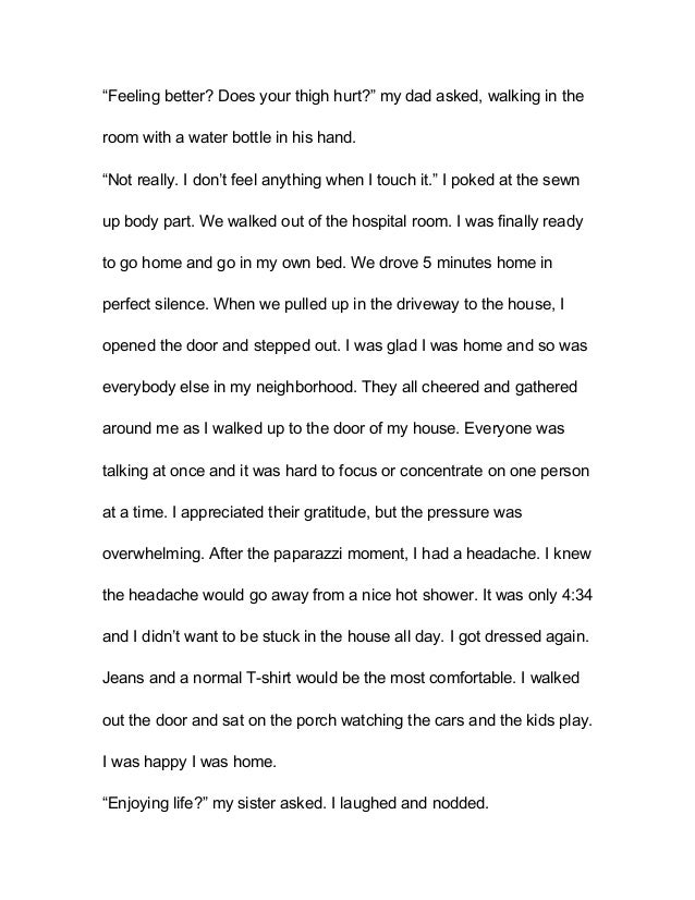 descriptive essay on the inside of a house