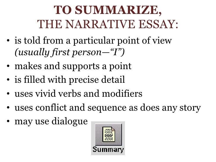 vivid narrative essays