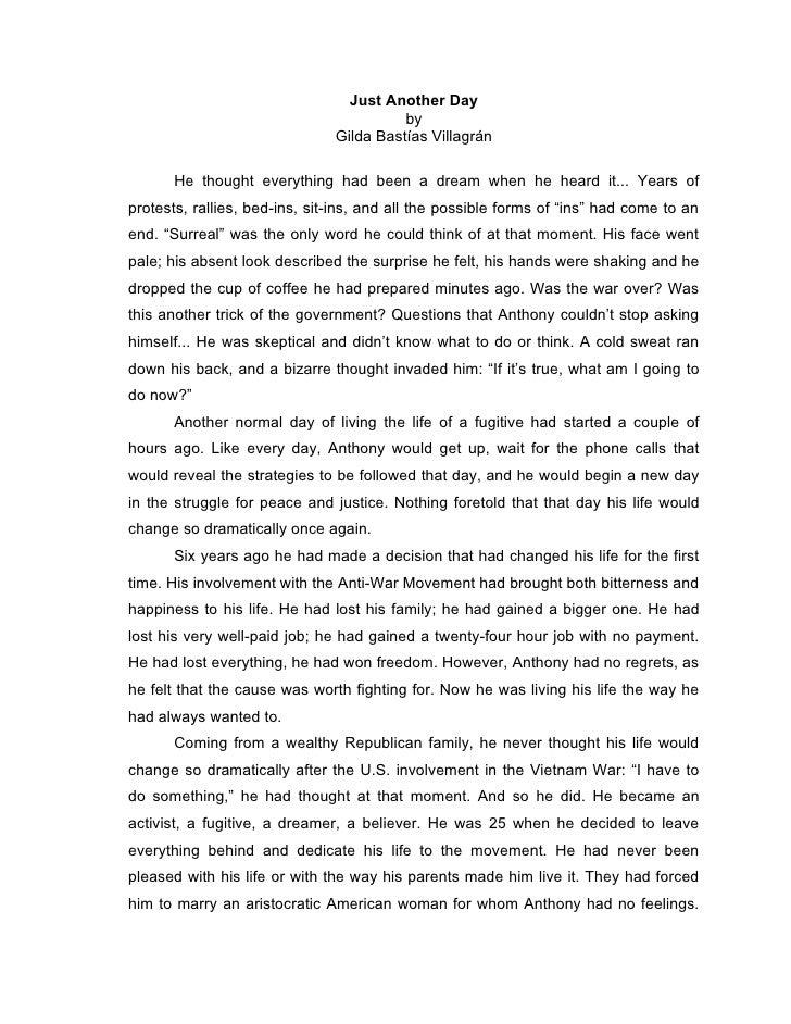 Narrative Essay - Scary Experience