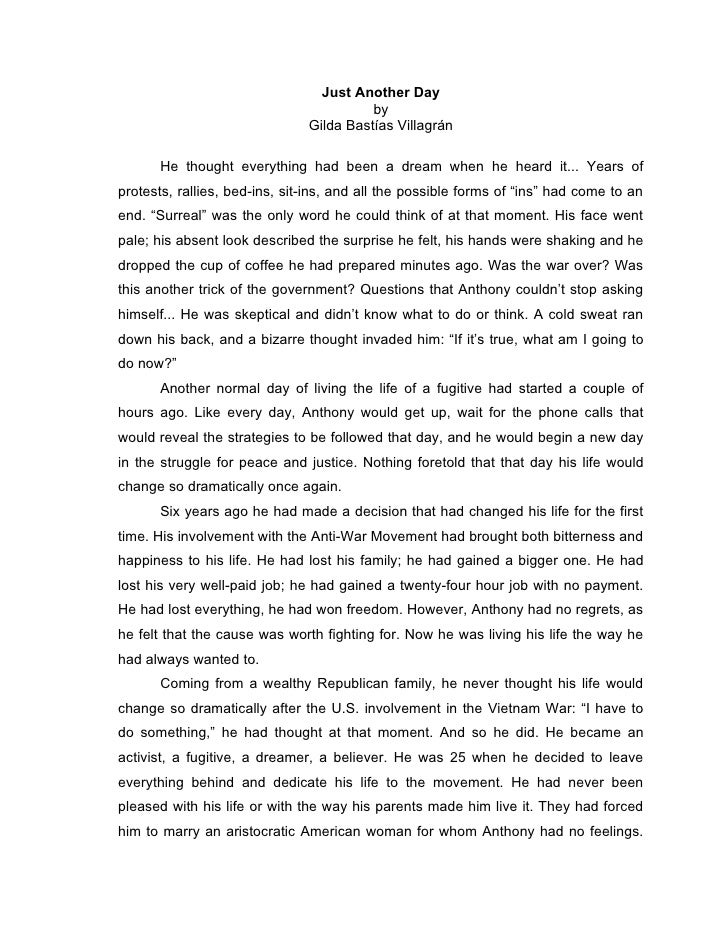 Personal history essay