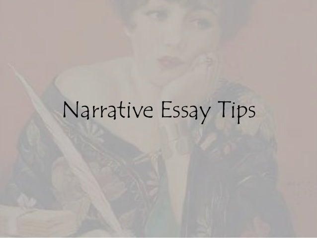 How to Write a Good Narrative Essay