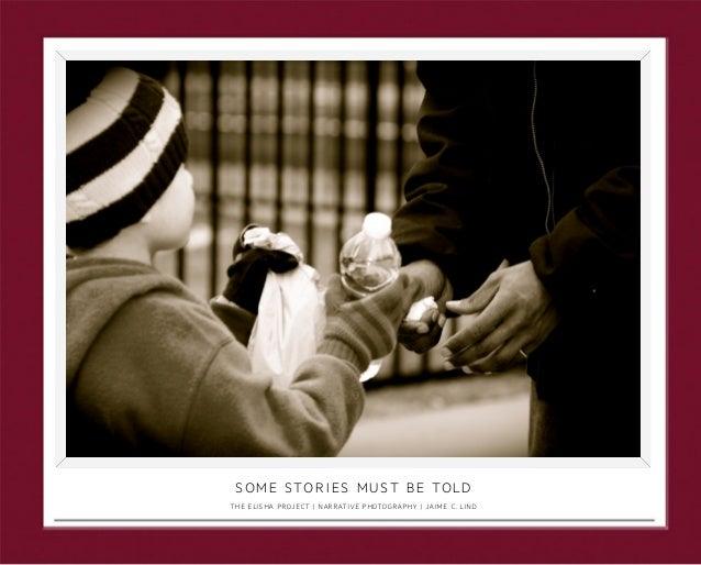 Jaime C Lind | Narrative Photography | Portfolio Book | The Elisha Project