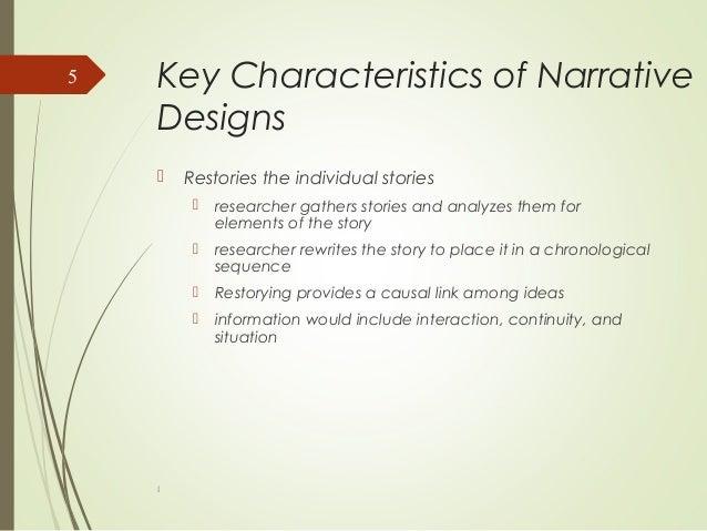 Key qualities of a narrative essay
