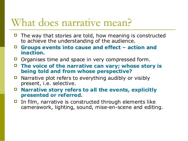 what does narrative essay means What is a definition essay a definition essay is writing that explains what a term means some terms have definite, concrete meanings, such as glass, book, or tree.