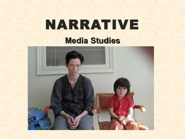 NARRATIVEMedia StudiesMedia Studies