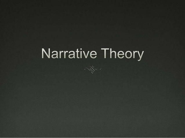 Narrative theory 2
