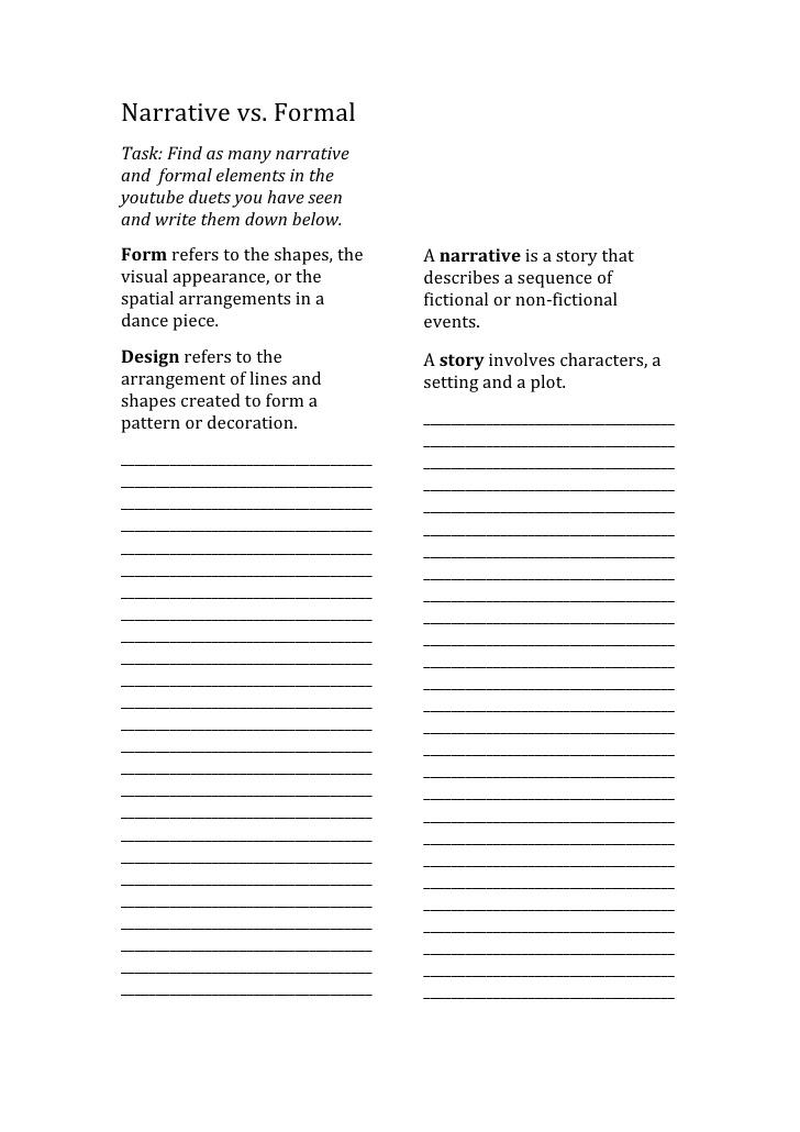 short story vs narrative essay