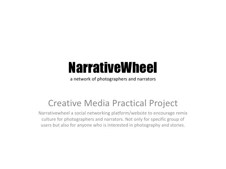 Narrative wheel story writers account